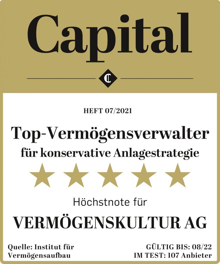Capital Vermoegensverwalter Test 2021